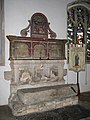 St Andrew's church - C16 tomb - geograph.org.uk - 933409.jpg