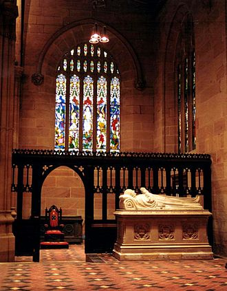 William Broughton (bishop) - Monument to Broughton in St Andrew's Cathedral, Sydney. This is a cast of the tomb which is in Canterbury Cathedral.