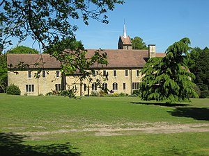 St Augustine's Abbey, Chilworth - Image: St Augustine's Abbey, Chilworth by Paul E Smith Geograph 2211315