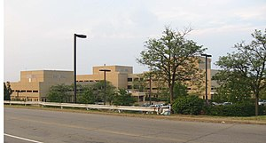 Mt. Lebanon Township, Allegheny County, Pennsylvania - St. Clair Hospital on Bower Hill Road