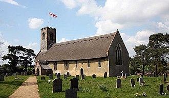 Thurton - Image: St Ethelbert, Thurton, Norfolk geograph.org.uk 1281043