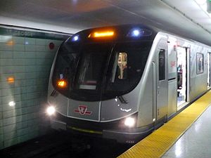Bombardier Movia - TTC Toronto Rocket Movia