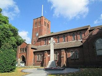 Rowley Regis - Image: St Giles, Rowley Regis