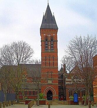 St James the Less, Pimlico - Image: St James the Less exterior