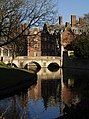 St John's College Old Bridge, Cambridge - geograph.org.uk - 615889.jpg
