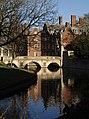St John's College Old Bridge, Cambridge - geograph.org.uk - 615889.jpg