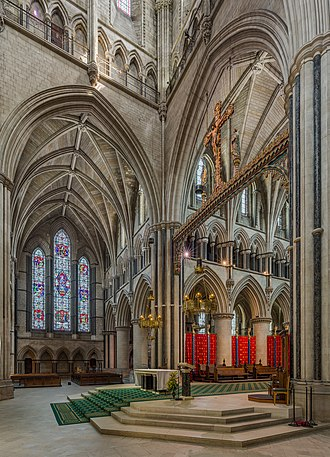 St John the Baptist Cathedral, Norwich - Image: St John the Baptist Cathedral Sanctuary, Norwich, Norfolk, UK Diliff