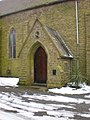 St John the Baptist Church, Roughtown, Porch - geograph.org.uk - 1617015.jpg