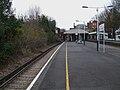 St Margarets stn (Middlesex) eastbound slow look east.JPG