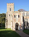 St Mary's Church, Shelton, Norfolk - Porch - geograph.org.uk - 1029299.jpg