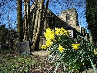 St Marys Church, Chaddesden Church in Derbyshire, England