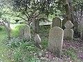 St Mary Magdalen's Church, High Street, Ripley (May 2014) (Gravestones).JPG
