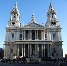 St Pauls Cathedral from West.jpg