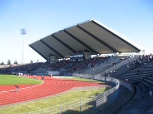 Bondoufle - The Robert Bobin stadium.