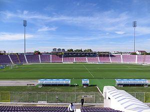 Stadionul Dan Păltinișanu - Image: Stadionul Dan Păltinişanu panoramio (3)