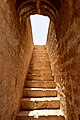 Stairs passing through the forte walls of Rani Kort.jpg