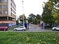 Stamicova, Ústřední vojenská nemocnice, vjezd u budovy D.jpg