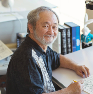 Stan Sakai - Stan Sakai in his studio, 2015