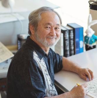 Stan Sakai - Stan Sakai in his studio, 2015