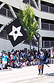 Standard-bearer in 2006 Aizu parade.JPG