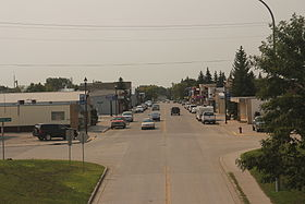Stanley North Dakota Downtown Looking north ND8.jpg
