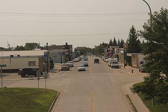 North Dakota Highway 8 - ND 8 in Stanley