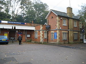 Stansted Mountfitchet railway station - Image: Stansted Mountfitchet railway station building in 2008