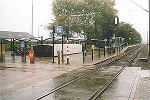 Bovenkarspel Flora railway station - Image: Station Bovenkarspel Flora in 2004