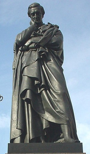 Sidney Herbert, 1st Baron Herbert of Lea - Statue of Lord Herbert of Lea at Waterloo Place, London.