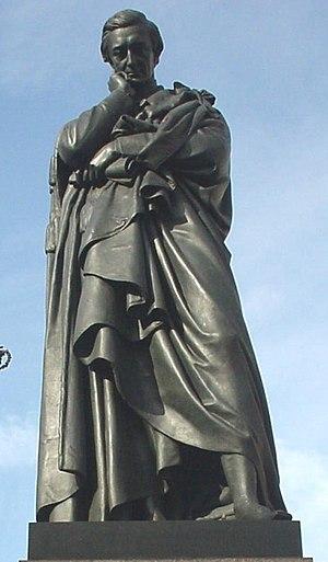 Sidney Herbert, 1st Baron Herbert of Lea - Statue of Lord Herbert of Lea at Waterloo Place, London.