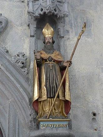 Austromoine - Image: Statue saint Austremoine