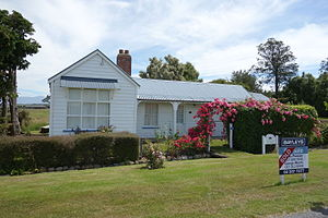Staveley, New Zealand - Ross Cottage on Flynns Road