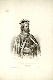 Stefan Milutin, by Anastas Jovanović, 1852.jpg