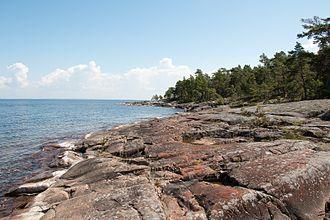Djurö National Park - Image: Stenhällar Djurö