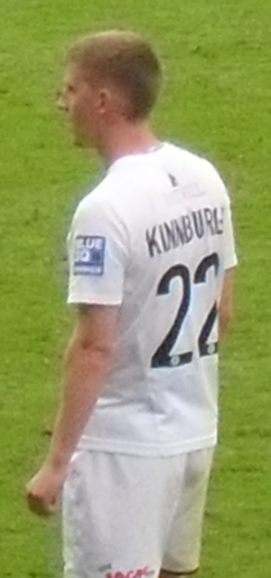 Steven Kinniburgh - Kinniburgh playing for Oxford United in 2009