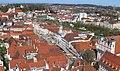 Steyrer Stadtplatz vom Stadtpfarrturm 1.jpeg