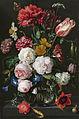 Stilleven met bloemen in een glazen vaas Rijksmuseum SK-C-214.jpeg