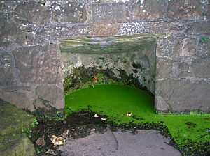 Holy well - Saint Inans Well, Irvine, Scotland. Dated 839 AD.