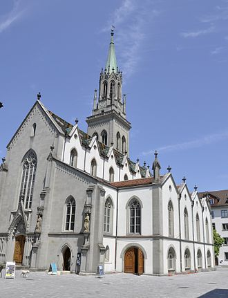 Evangelical Reformed Church of the Canton of St. Gallen - The Church of St. Laurence in St. Gallen.