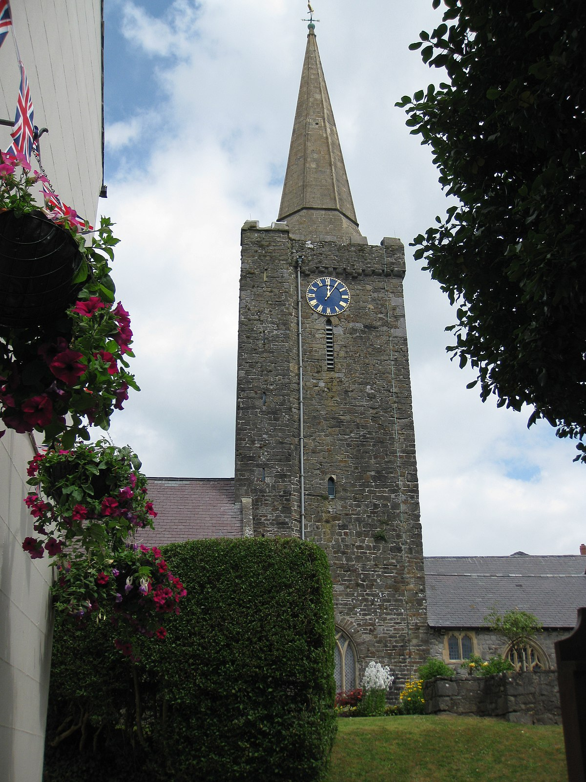 St Mary S Church Tenby Wikipedia