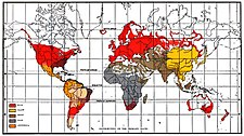 Races Of The World Map.Race Sociology Simple English Wikipedia The Free Encyclopedia