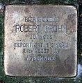 Stolperstein Bennigsenstr 17 (Fried) Robert Crohn.jpg