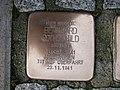 Stolperstein Bernhard Rothschild, 1, Karl-Albert-Straße 25 - 31, Bornheim, Frankfurt am Main.jpg