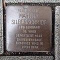 Stolperstein Bocholt Adenauerallee 39 Martha Silberschmidt.jpg