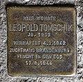 Stolperstein Dunckerstr 58 (Prenz) Leopold Tomschik.jpg