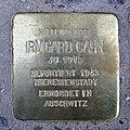 Stolperstein Eschersheimer Landstraße 10 Irmgard Cahn.jpg