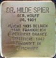 Stolperstein Hilde Spier Gleueler Str 163.jpg