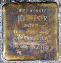Stolperstein Köln, Leo Leeser (Wittgensteinstraße 29).jpg