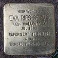 Stolperstein Konstanzer Str 62 (Wilmd) Eva Ries-Seelig.jpg