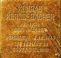 Stolperstein für Konrad Kerndlbacher.JPG